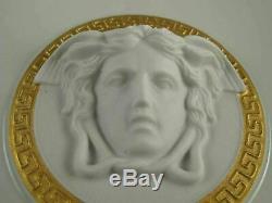GORGONA WHITE by ROSENTHAL STUDIO x VERSACE Porcelain Medusa Head 11 Bowl MINT