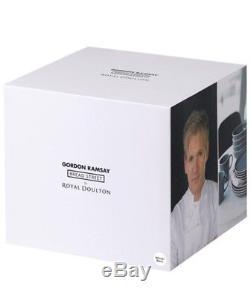 Gordon Ramsay 16 Piece Dinnerware Set White Bread Street By Royal Doulton