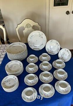 HAVILAND LIMOGES France DINNERWARE SET SYMPHONIE Pattern- 51 Pieces