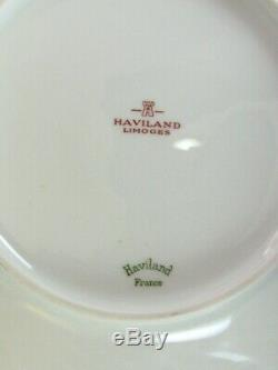 Haviland Limoges France TORSE White 5 Pieces Dinnerware Set for 12 Person