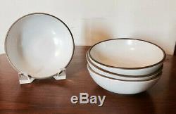 Heath Ceramics White Coupe Dinnerware 14 Piece Set