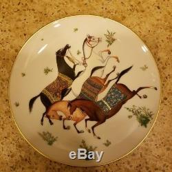 Hermes Cheval d'Orient dessert plate