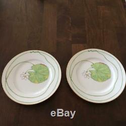 Hermes Nil Dessert Plate 22.5 cm Porcelain Dinnerware Nile 8.8 tableware M308