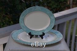 Homer Laughlin Cavalier Eggshell Romance Fine China Dinnerware Setting for 8