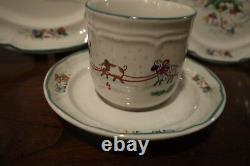 International China COUNTRY CHRISTMAS Dinnerware20 PiecesService for 5