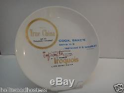Iroquois Impromptu Fine China Advertising Display Plate Ben Seibel Dinnerware