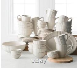 JCPenney Home Ashley Scalloped Stoneware 50-pc. Dinnerware Set Service for 8 & JCPenney Home Ashley Scalloped Stoneware 50-pc. Dinnerware Set ...