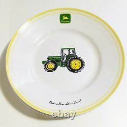 John Deere -16 Piece Dinnerware Set by Gibson Country/Farm Decor + S/P Shakers