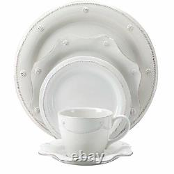 Juliska Berry & Thread Whitewash 5pc. Place Setting Set of 4