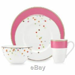 Kate Spade New York Market Street Dinnerware Collection in Pink