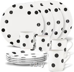 Kate spade new york All in Good Taste Deco Dot 12-Piece Dinnerware Set