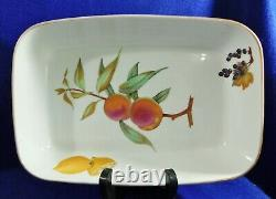 Large 6pc Serving Set Royal Worcester Evesham Gold China Dinnerware England