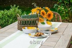 Lemon Fresh Melamine Collection 12 Piece Dinnerware Set by TarHong