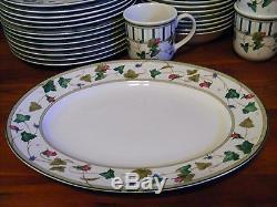Lenox Casual Images Summer Terrace 34 Pc Dinnerware Set Pasta Bowls Dinner Plate