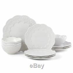 Lenox Chelse Muse Scallop White 12-piece Dinnerware Set