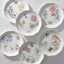 Lenox Dinnerware Set Butterfly Meadow Porcelain 18 Piece Service for 6 NIB