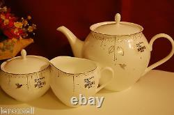 Lenox Enchanted Season Tea Party Set NEW in Box 1stQ Free Shipping
