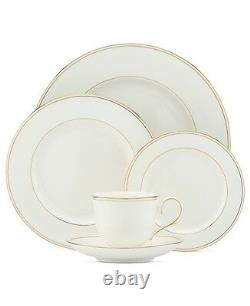 Lenox Federal Gold 60Pc China Set, Service for 12