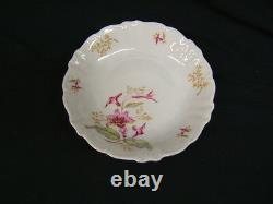 Lot of 62 Piece Dish Set Treasure Chest Bavaria Germany Trumpet Flower VGC