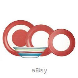 Luminarc'Simply Colors' 19-pc Red Unbreakable Tempered Glass Dinnerware Set