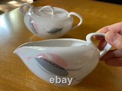 MCM Vintage Kokura Ware Fairwin 1018 Dinnerware Set 8 Plus Serving Pieces LOT