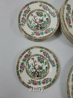 Maddock England Indian Tree Dinnerwear Set 24 pcs w charger