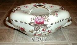 Meito Norleans Bone China Rosanne Floral Set 50+ pc Vintage MINT photos Ivory