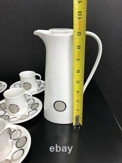 Mid Century Porcelain Tea Set By Bidasoa Of Spain PatternReflections Creation