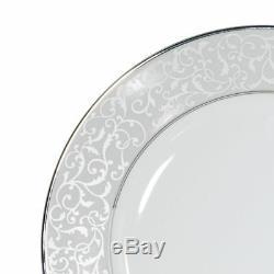 Mikasa 5224232 Parchment White 40-Piece Dinnerware Set, Service for 8