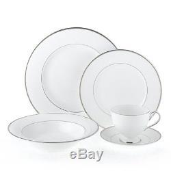 Mikasa Cameo Platinum 40 Piece Dinnerware Set