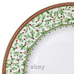 Mikasa Dinnerware Set Holiday Traditions Christmas 16-Piece White Serves 4