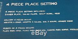 Mikasa Elegance White 16 Piece Dinnerware Set