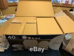 Mikasa Italian Countryside 40 Piece Dinnerware Set Brand New Open Box