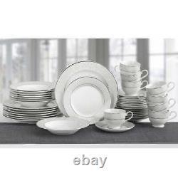 Mikasa Parchment 40-piece Porcelain Dinnerware Set