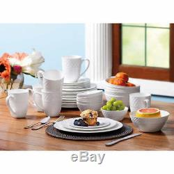 Mikasa Trellis 36-piece Bone China Dinnerware Set