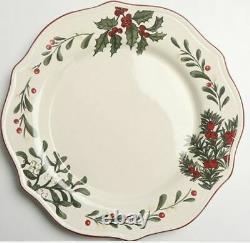 NIB Better Homes and Gardens Heritage 12 piece Christmas China Dinnerware Set