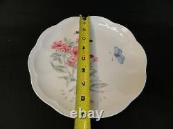 New Lenox Butterfly Meadow Eastern Tailed Blue 16-piece Dinnerware Set A11-23