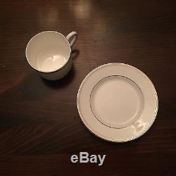New Vera Wang Wedgewood Grosgrain Fine China Dinnerware