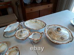 Noritake Antique china dinnerware 12,6 piece place settings