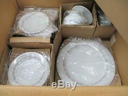 Noritake China Crestmont 6013 Japan NEW IOB Packaged Partial Set Dinnerware (AL)