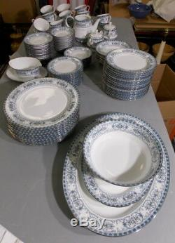 Noritake Dinnerware Pattern 2081 Burlington China 10 Place Settings With Extras