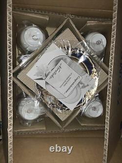Noritake Foxboro EIGHT -NINE PIECE Place Settings! EXTRAVAGANT Bridal Gift NEW