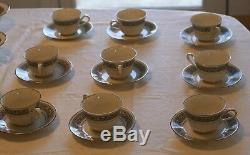 Noritake Ivory China 7570 Prelude 50 Pce Service for 8 Dinnerware Set Excellent