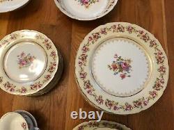 Occupied Japan Dinnerware pieces Gold Castle Hostess