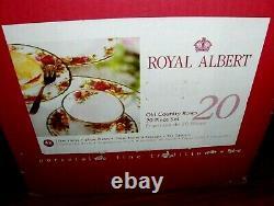 Old Country Roses Royal Albert Dinnerware 20 Piece Setnew In Box