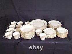 Oxford Bone China, Milburne Pattern Service for 12, Mint Condition