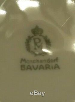 PM Moschendorf Bavaria Otto Reinecke China Dish 1937 Modern Day Austria