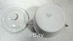 Pillivuyt France White Porcleain Custard / Pots de Creme Set of 8