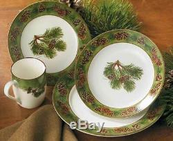 Pinecone Dinnerware Set by Persis Clayton Weirs