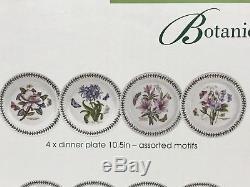Portmeirion Botanic Garden Round 22 Piece Dinnerware New $505